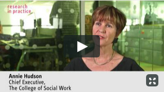 Social workers as experts in the Family Court - Annie Hudson, College of Social Work video