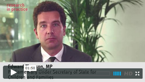 Edward Timpson MP Introduction to COPP Guidance video