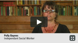 Polly Baynes talks about making evidence-based decisions - video