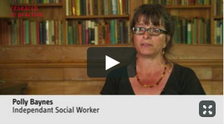 Polly Baynes discusses recent research on contact for infants - video
