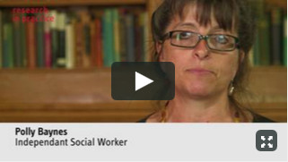 Polly Baynes talks about the role of contact - video