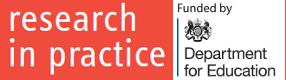 Resources from Research in Practice, funded by the DfE