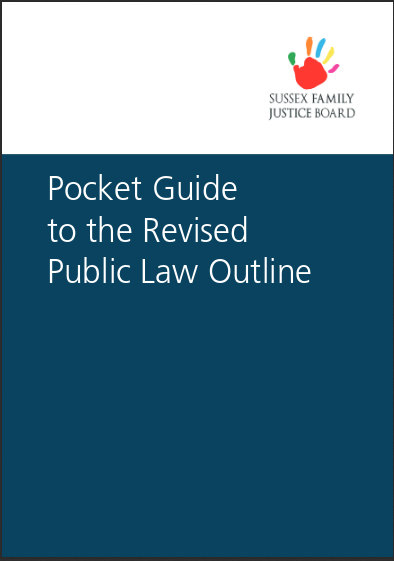 Sussex Family Justice Board PLO Pocket Guide