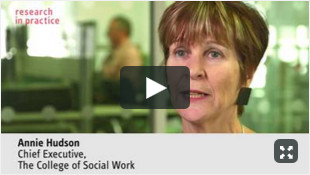 TCSW as a resource for social workers - Annie Hudson, College for Social Work
