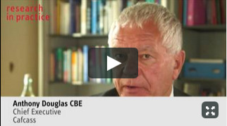 Collaborative working in developing and using the template - Anthony Douglas, CBE, Cafcass.