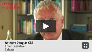 Practical tips on filling in the evidence template - Anthony Douglas, CBE, Cafcass.