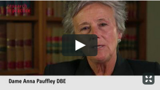 Dame Justice Anna Pauffley - working with families video